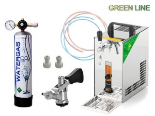 Lindr PYGMY 20 Green Line, BAJONET, CO2 MINI